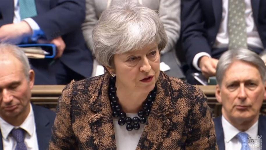 Theresa May /PAP/EPA