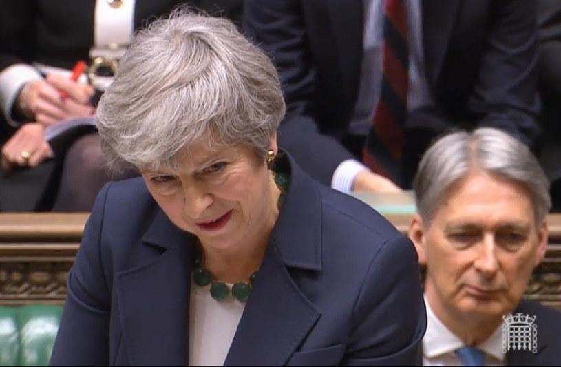 Theresa May /UK PARLIAMENTARY RECORDING UNIT /PAP