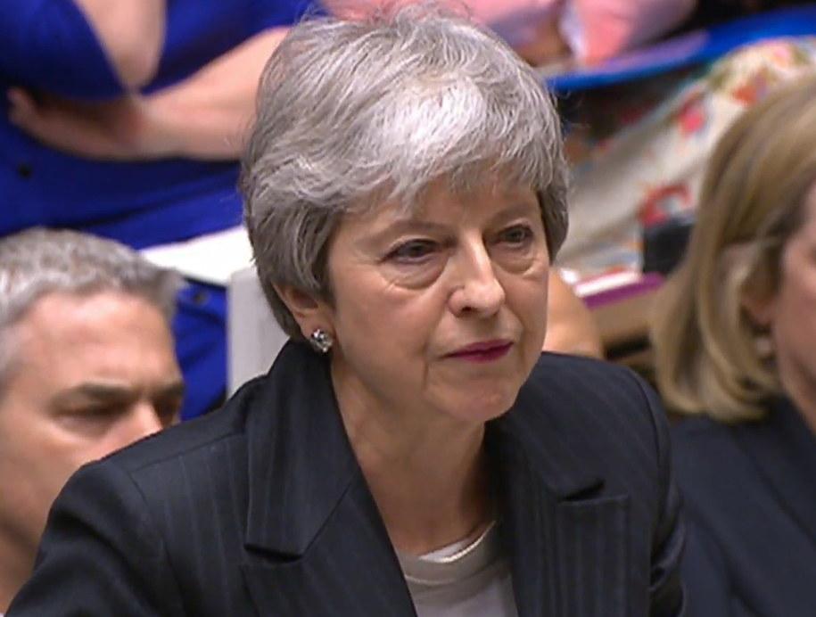 Theresa May /PAP/EPA/PARLIAMENTARY RECORDING UNIT HANDOUT /PAP/EPA