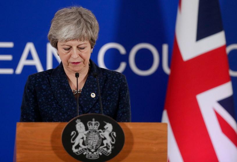 Theresa May /STEPHANIE LECOCQ  /PAP/EPA