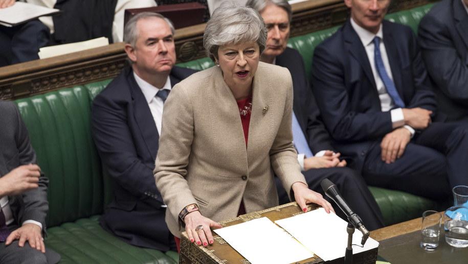 Theresa May /MARK DUFFY / UK PARLIAMENT / HANDOUT /PAP/EPA