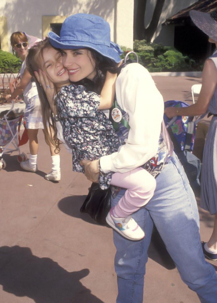 Theresa Saldana z córką /- /Getty Images
