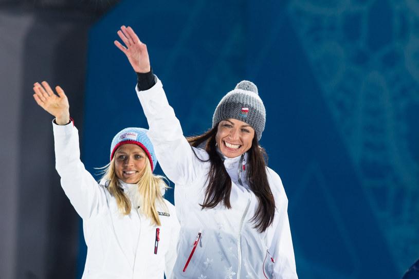 Therese Johaug i Justyna Kowalczyk /Andrzej Lange /East News