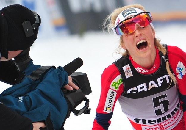 Therese Johaug na Alpe Cermis /AFP