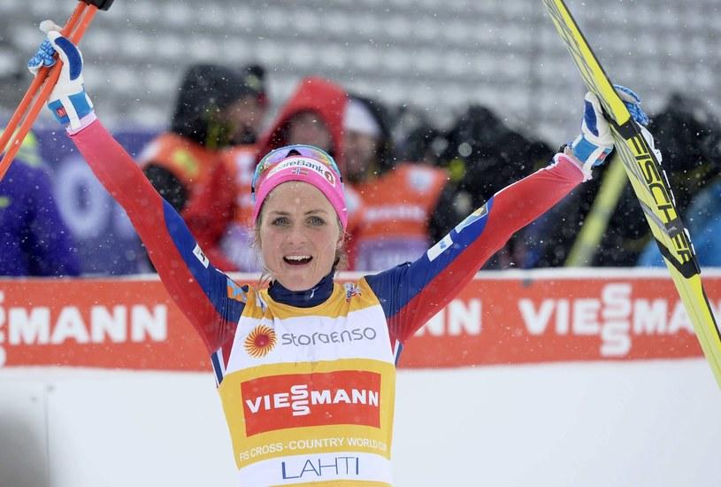 Therese Johaug, triumfatorka Pucharu Świata w biegach narciarskich /AFP