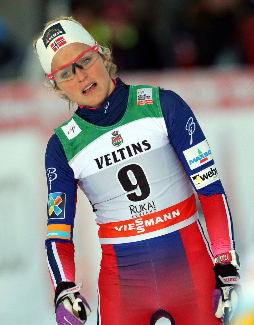 Therese Johaug w Kuusamo /Grzegorz Momot /PAP