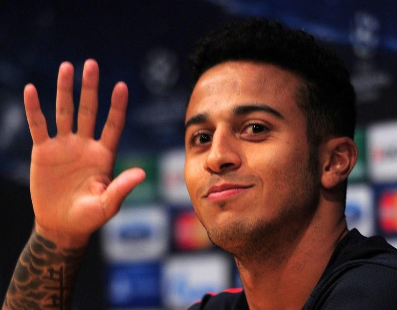 Thiago Alcantara ma podpisać czteroletni kontrakt z Bayernem Monachium /AFP