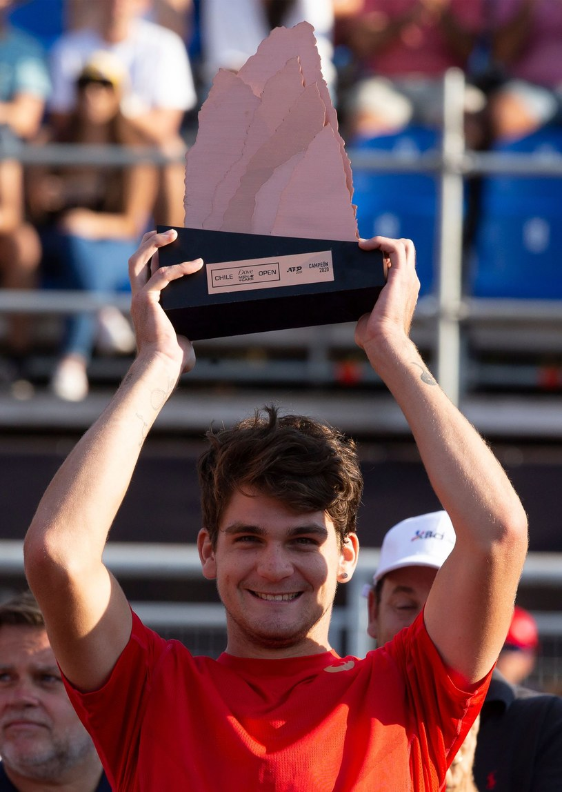 Thiago Seyboth Wild 1 marca wygrał turniej ATP w Santiago de Chile /AFP