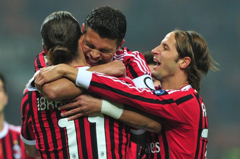 Thiago Silva i Zlatan Ibrahimovic prawdopodobnie odejdą z Milanu /- /AFP