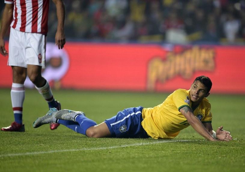 Thiago Silva nie zasługuje na to, aby grać w reprezentacji Brazylii? /AFP
