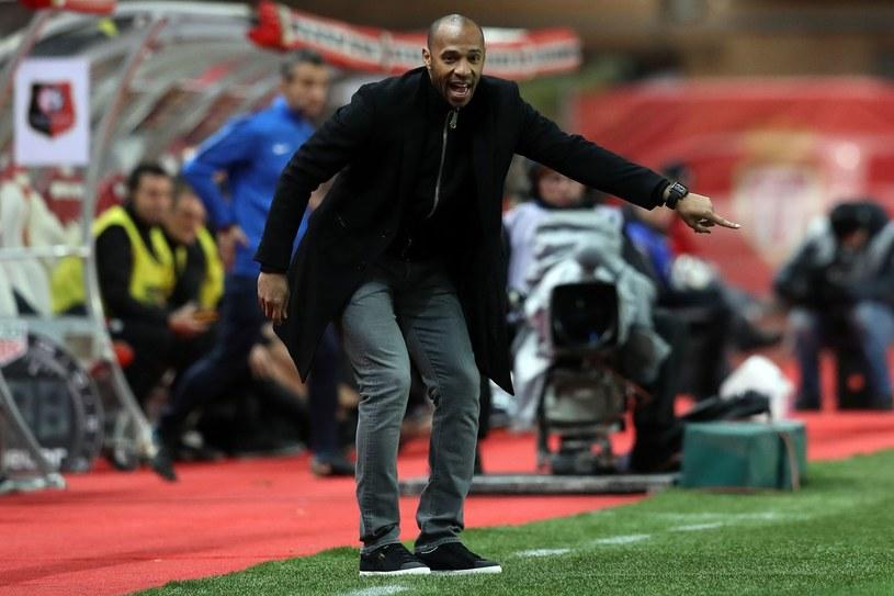Thierry Henry denerwował się na piłkarzy AS Monaco /AFP