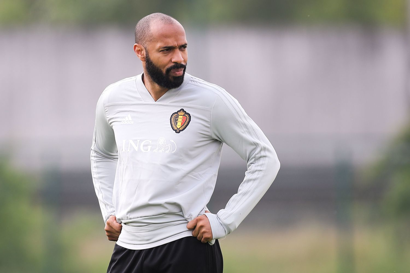 Thierry Henry, jeszcze w sztabie Belgów. Jak długo? /AFP