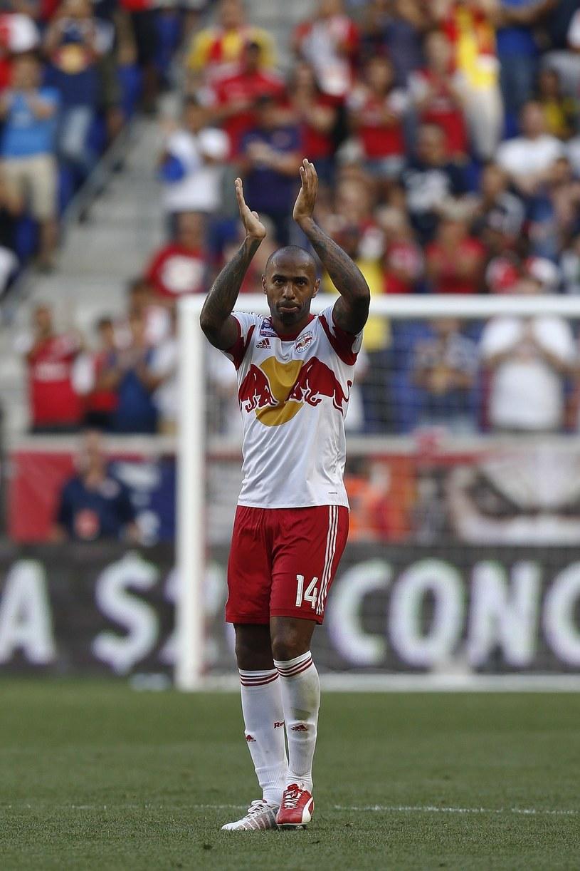 Thierry Henry to jeden z najlepszych napastników XXI wieku /AFP