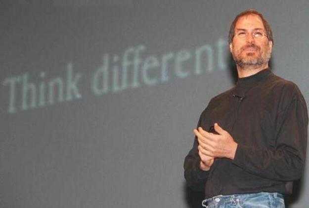 """""""Think diffrent"""" - to hasło przyświecało Jobsowi od samego początku /AFP"""