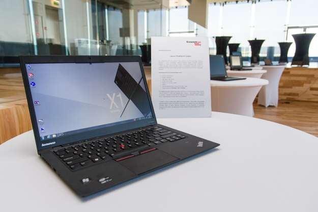 ThinkPad X1 Carbon - jeden z notebooków, który ma pomóc Lenovo w walce o pozycje lidera /materiały prasowe