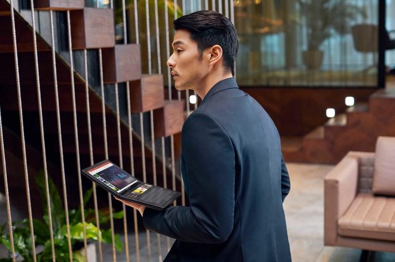 ThinkPad X1 Fold to pierwszy komputer mobilny ze składanym ekranem /materiały promocyjne