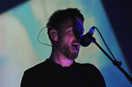 Thom Yorke (Radiohead) /arch. AFP