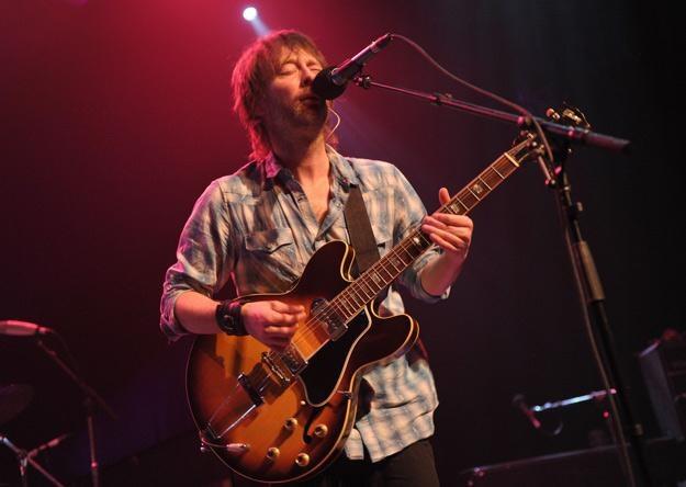 Thom Yorke, wokalista Radiohead - fot. John Shearer /Getty Images/Flash Press Media