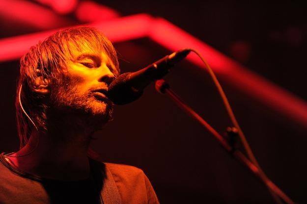 Thom Yorke, wokalista Radiohead - fot. Michael Buckner /Getty Images/Flash Press Media