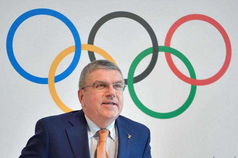 Thomas Bach, prezydent Międzynarodowego Komitetu Olimpijskiego /AFP
