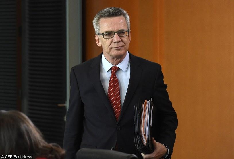 Thomas de Maiziere/AFP /TOBIAS SCHWARZ /East News