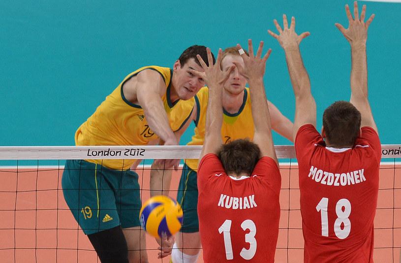 Thomas Edgar (z lewej) miał ogromny udział w sensacyjnym zwycięstwie Australii z Polską podczas igrzysk w Londynie /AFP