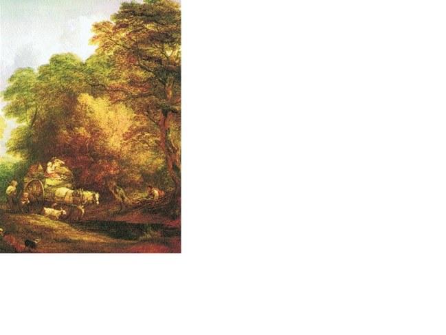 Thomas Gainsborough, Wóz jadący na targ, ok. 1780 r. /Encyklopedia Internautica