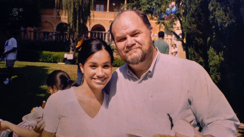 Thomas Markle ze swoją córką Meghan /IMP Features /East News