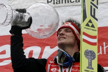 Thomas Morgenstern - obrońca PŚ /AFP