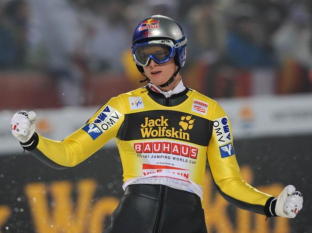 Thomas Morgenstern wygrał konkurs w Oberstdorfie /AFP