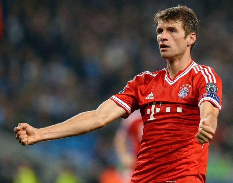 Thomas Mueller, młoda gwiazda Bayernu Monachium /AFP