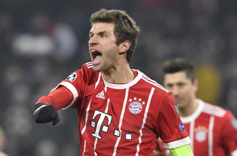 Thomas Mueller odżył po zmianie trenera w Bayernie Monachium /AFP