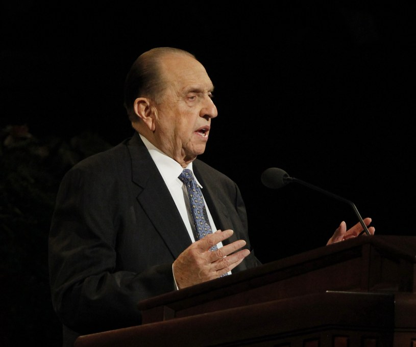Thomas S. Monson /GEORGE FREY  /PAP/EPA