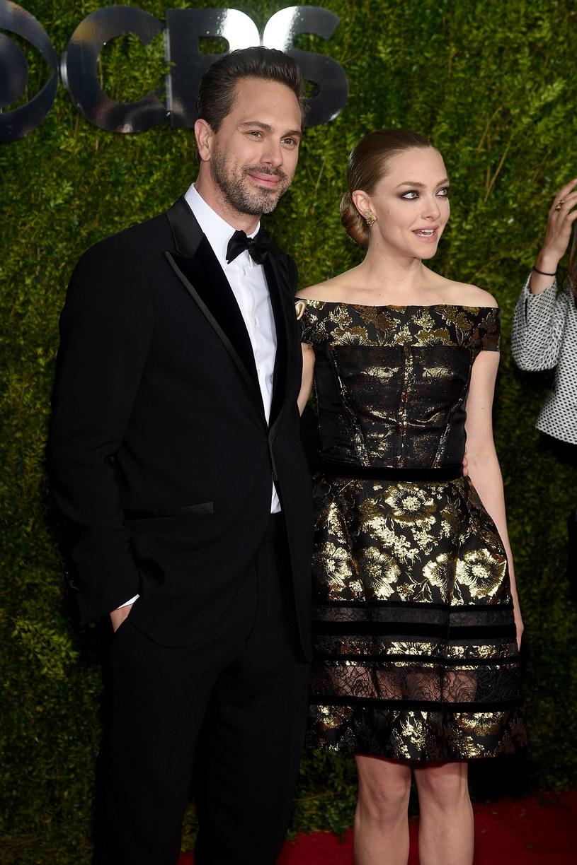 Thomas Sadowski i Amanda Seyfried /Dimitrios Kambouris /Getty Images