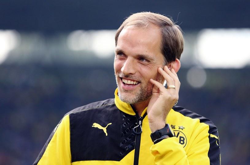 Thomas Tuchel, trener Borussii Dortmund /AFP