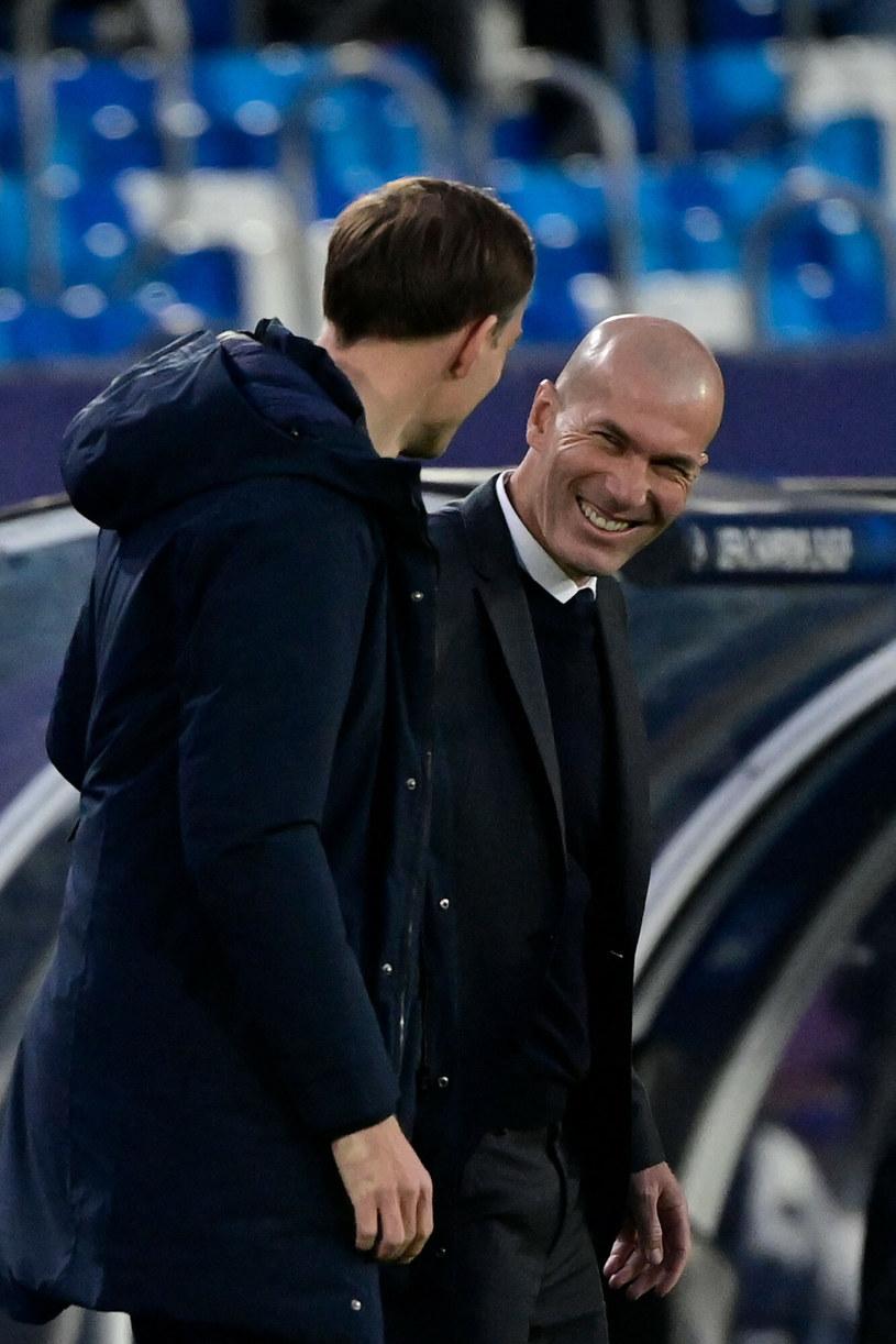 Thomas Tuchel (z lewej) i Zinedine Zidane /EastNews /East News
