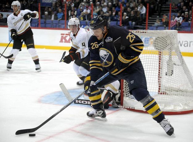 Thomas Vanek z Buffalo Sabres /AFP