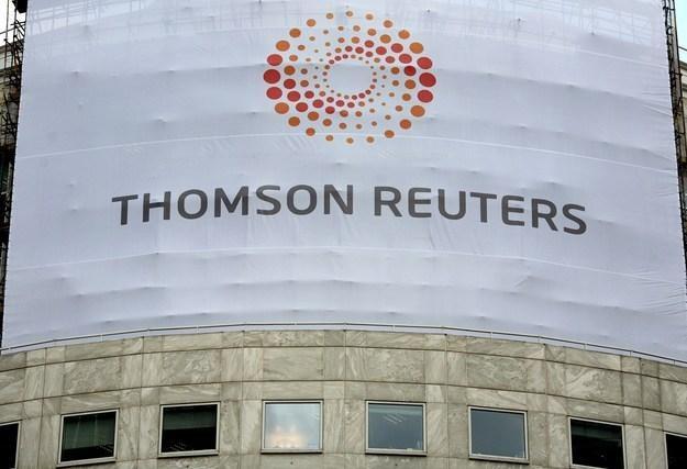 Thomson Reuters - biuro w Londynie /AFP