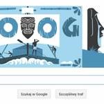 Thor Heyerdahl - norweski odkrywca i podróżnik w Google Doodle