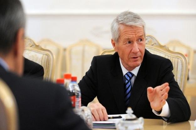 Thorbjorn Jagland, Sekretarz Generalny Rady Europy - według niego Rada Europy powinna strzec sieci /AFP