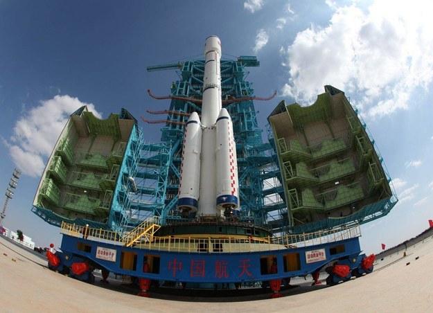 Tiangong-1 przed startem / Qin Xian'an /PAP/Photoshot