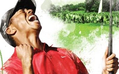 Tiger Woods - fragment okładki z gry /gram.pl