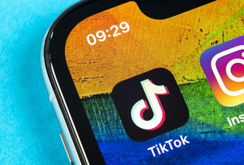 TikTok w ostatnich miesiącach stał się jedną z najpopularniejszych aplikacji na świecie. / Alexey Malkin /123RF/PICSEL