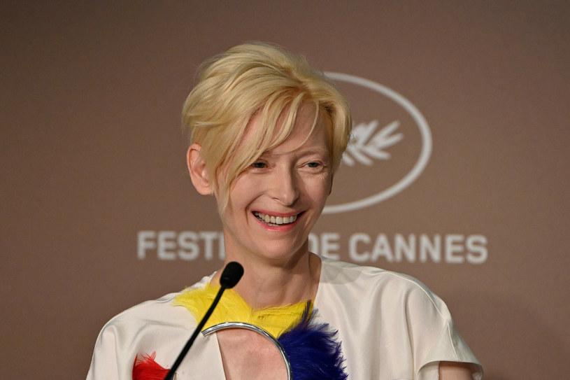 Tilda Swinton jest dumna ze swoich psich aktorów /JOHN MACDOUGALL/AFP /East News