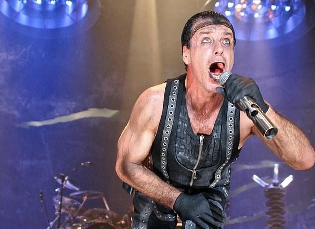 Till Lindemann (Rammstein) - tak było w Katowicach na poprzednim koncercie /fot. Bartosz Nowicki