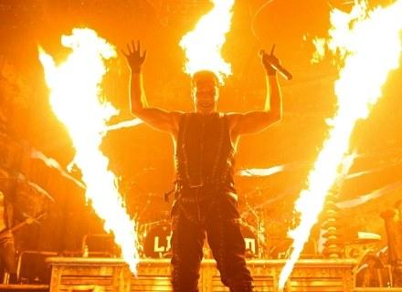 Till Lindemann (Rammstein) w Spodku /fot. Bartosz Nowicki