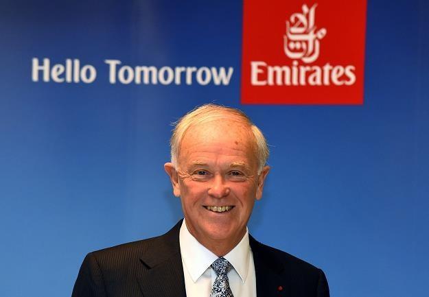 Tim Clark, prezes Emirates Airlines /AFP