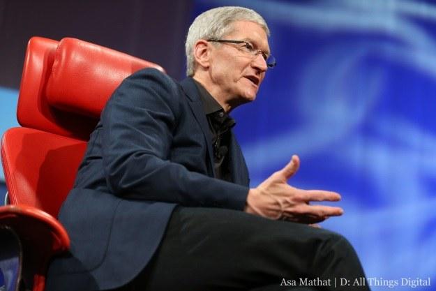 Tim Cook jest zaskoczony popularnością Apple TV (Fot. AllThingsD) /materiały prasowe