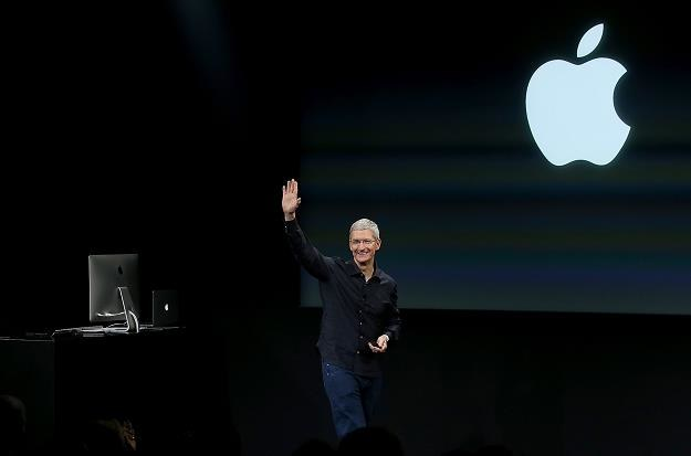 Tim Cook, prezes Apple. Fot. Justin Sullivan /Getty Images/Flash Press Media