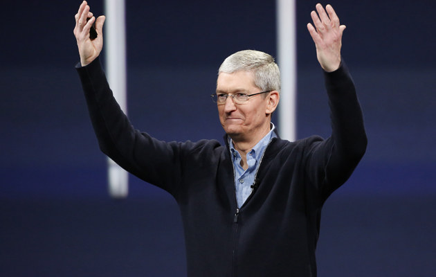 Tim Cook /Stephen Lam /Getty Images